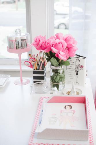 Decoração de mesa de escritório – Dicas, fotos (1) dicas de decoração fotos