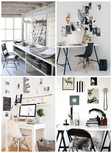 Decoração de mesa de escritório – Dicas, fotos (4) dicas de decoração fotos