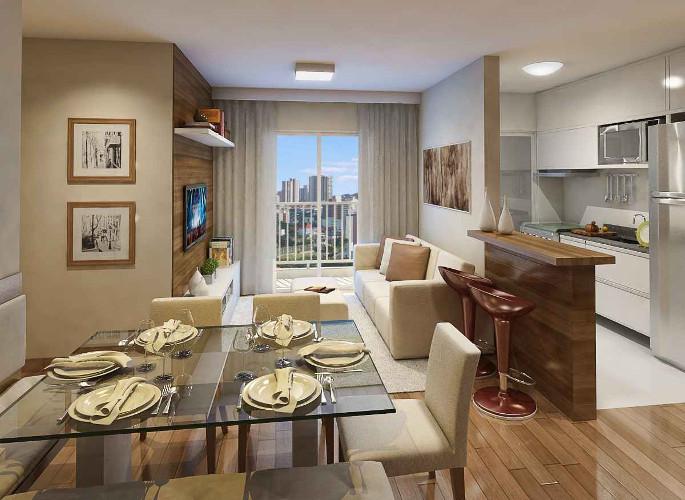 Decoração de sala de apartamento – Como decorar (4) dicas de decoração fotos