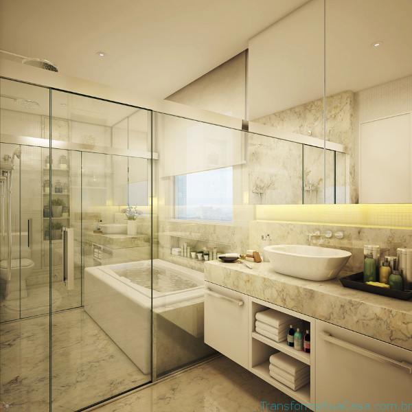 Piso para banheiro – Como escolher (4) dicas de decoração como decorar como organizar