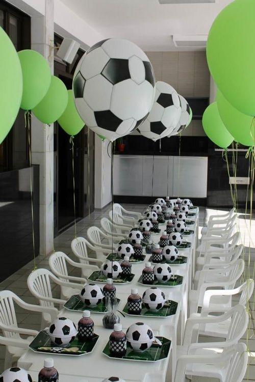 Festa de aniversário futebol