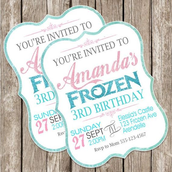 festa frozen convite 3