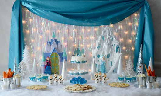 festa frozen decoracao pisca 2