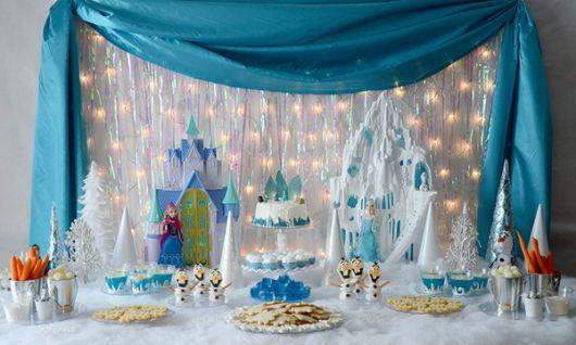 festa frozen decoracao pisca 2