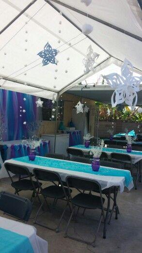 Decoração da Frozen: salão