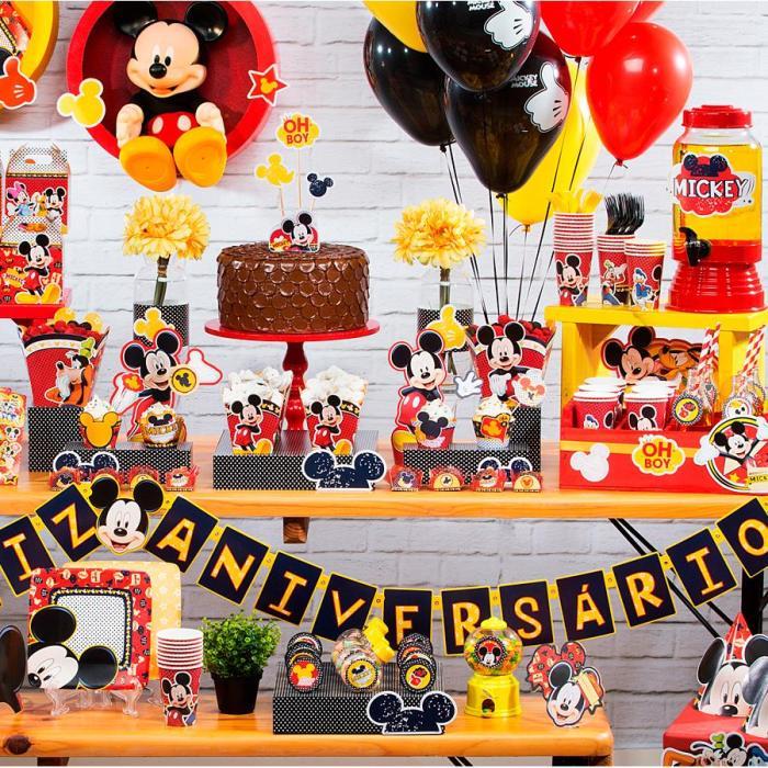 Os temas de festa infantil na MZ Decorações Festa do Mickey