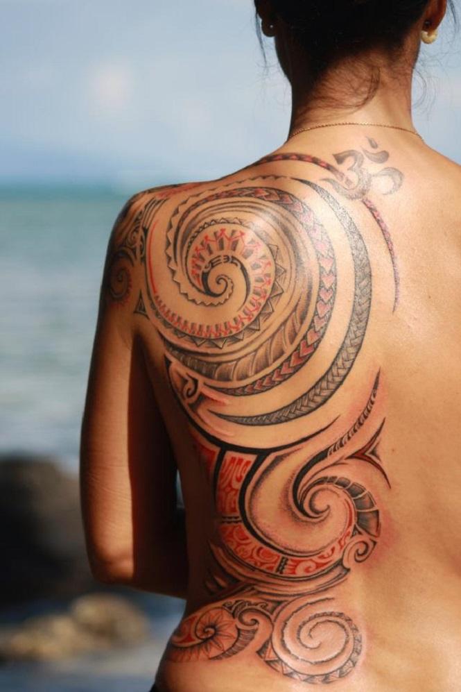 Inspirações de tatuagem Maori