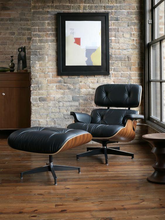 A poltrona Charles Eames