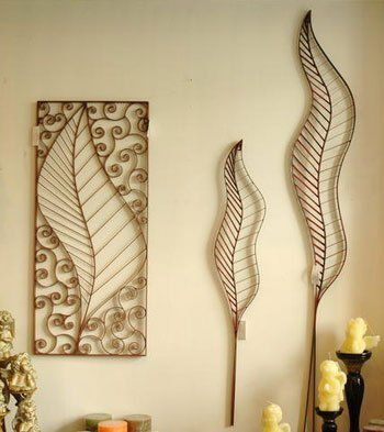 esculturas de parede aço