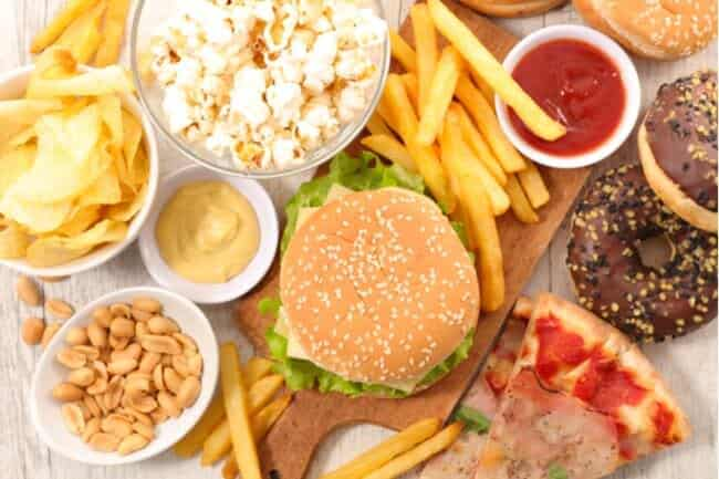 fast food for sumo dieting