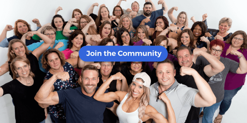 Join the Transform with Chris + Heidi Facebook Group