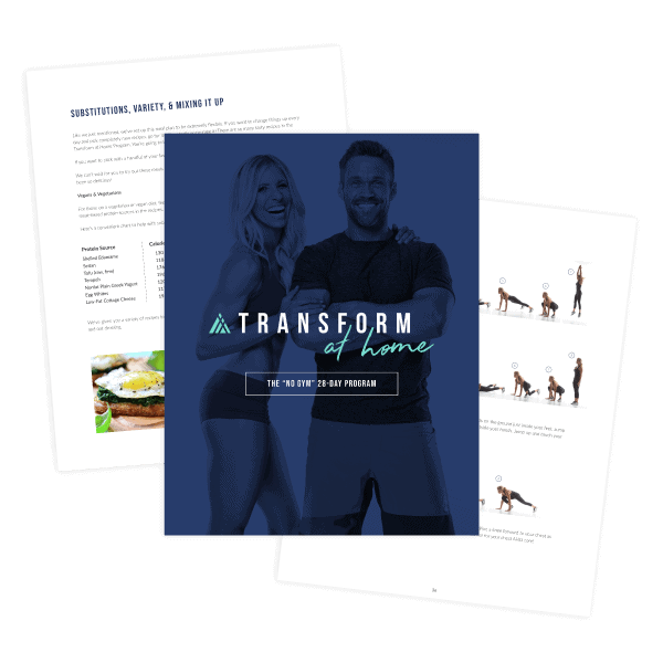 Transform At Home workout plan & meal plan eBook