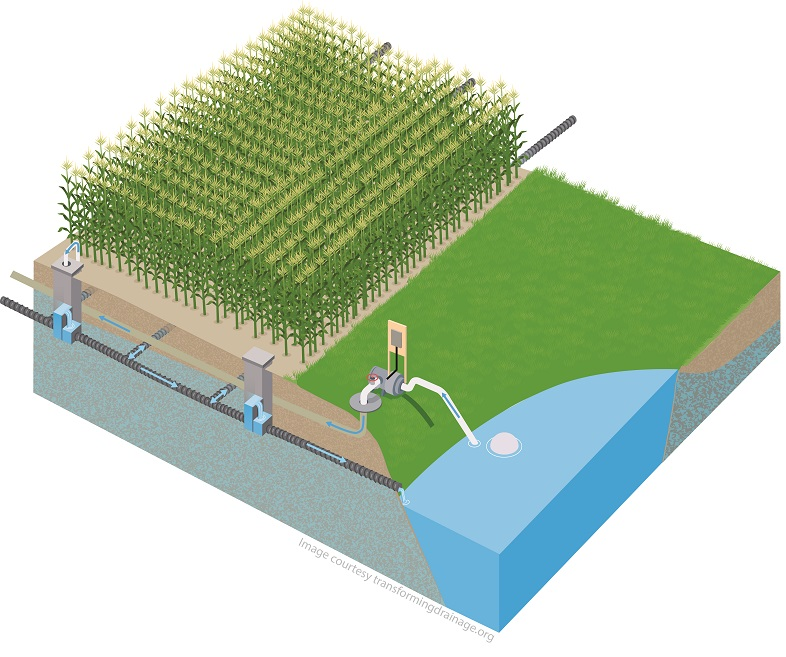 Farm Pond Drainage Systems