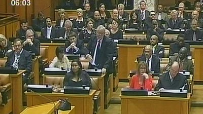 Members of the Parliament of South Africa