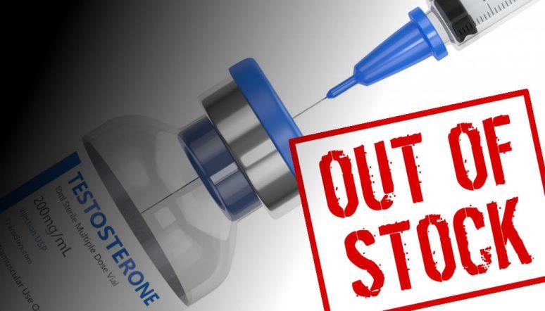 Testosterone Shortages