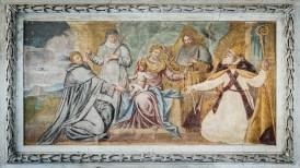 Church Fresco, Pasturo, Italy.