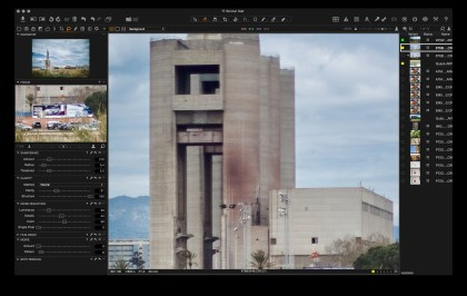 Clarity and sharpening in Capture One.