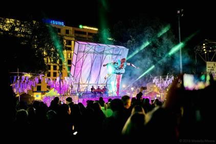 Plaça de Catalunya, Barcelona - Robot Danser
