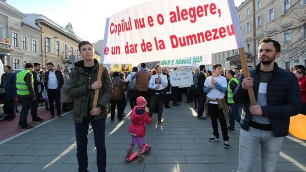 Manifestarea a fost susținută de mai multe culte religioase | Foto: Dan Bodea
