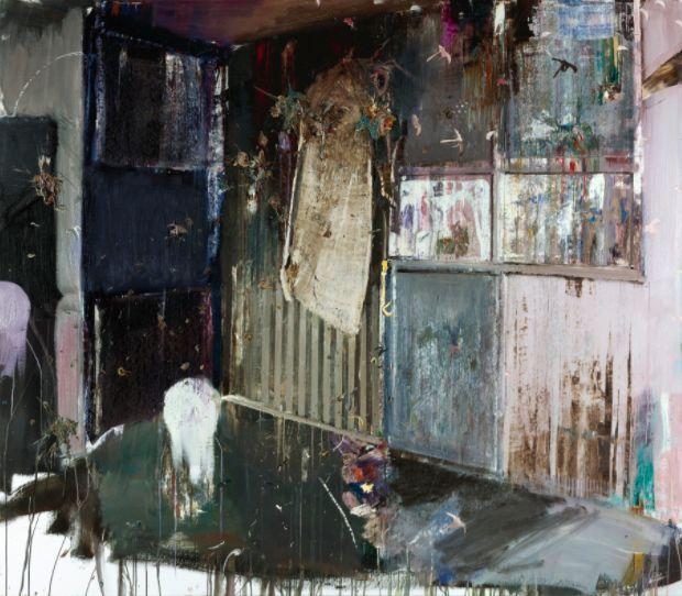 Adrian Ghenie, The Second Presentation Room (2011) Foto: Sotheby's