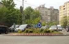 Sens giratoriu nou la intersecția străzilor Aurel Suciu – Septimiu Albini – Semenicului