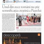"""Nu ratați noul număr Transilvania Reporter: """"Unul din zece români nu știe semnificația creștină a Paștelui"""""""