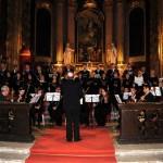 Concert festiv în Catedrala romano-catolică din  Oradea