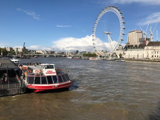 London Eye Thames Cruise