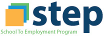 S.T.E.P School to Employment Program logo
