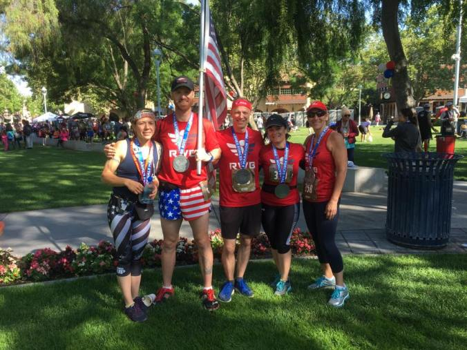 Team RWB at Armed Forces Half