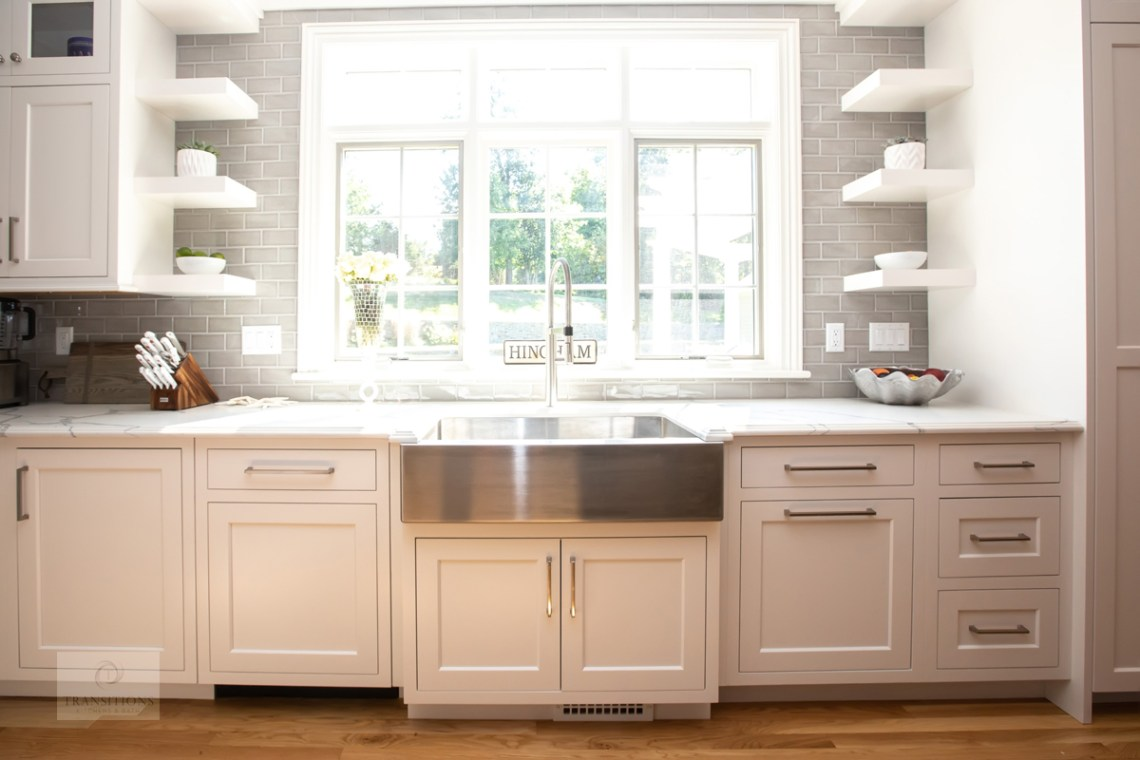 Transitions Kitchens And Baths Kitchen Design Ideas Open Vs Closed Storage