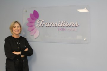 Debra Yates, Founder / CEO / Aesthetician of Transitions Skin Care, is a licensed esthetician with over 25 years of experience in medical skin care.