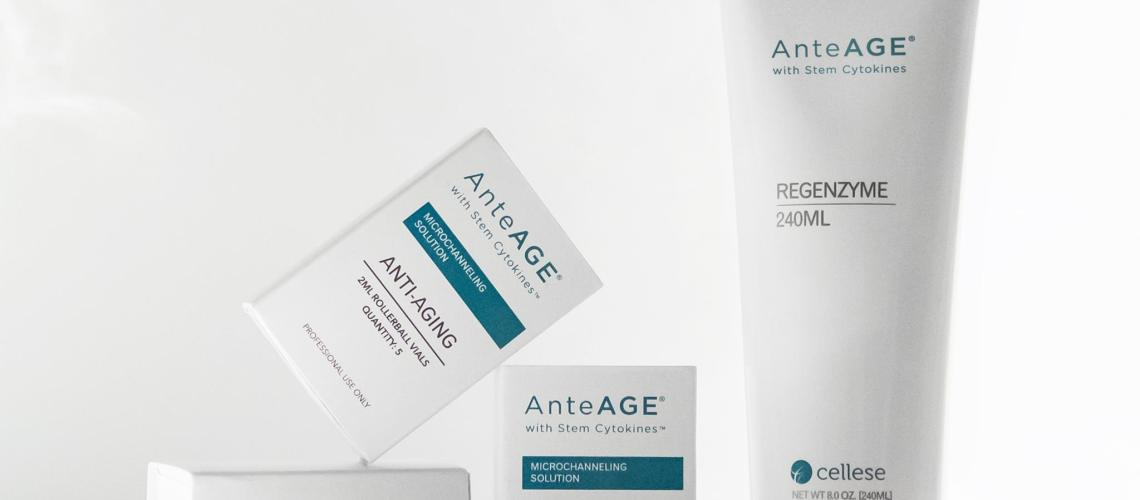 AnteAGE MD products at Transitions Skin Care in Camp Hill, PA