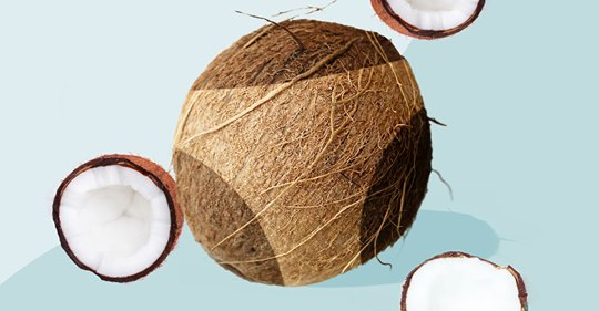 Coconut oil as a sunscreen can lead to sun damage