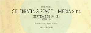 Celebrate Peace Media @ Various