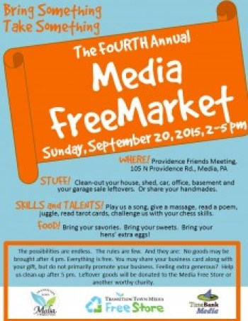2015-09-20 4th FreeMarket Poster