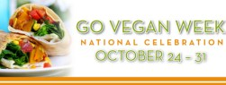World Go Vegan Week banner