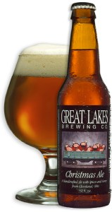 Christmas Ale by Great Lakes Brewing Company.