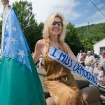 Vermont independence parade entry