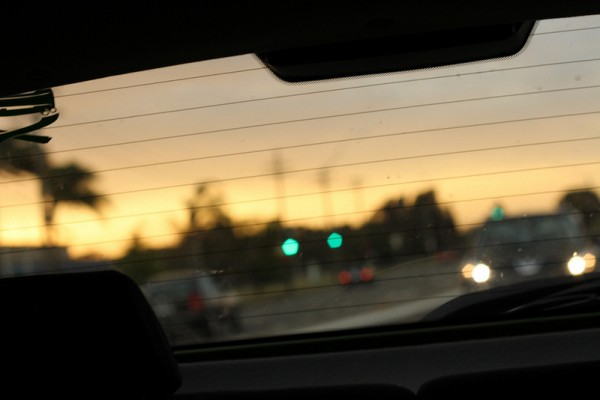seeing through car dashboard