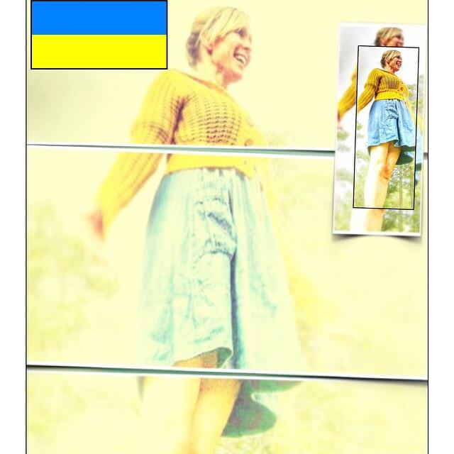 Gitte Gjersdal markerer Ukrainas nasjonaldag