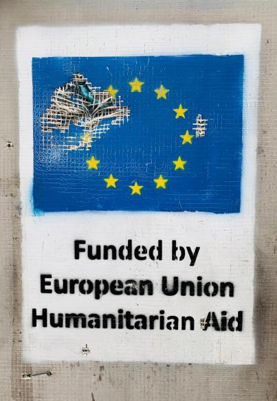 SPONSET AV EUROPA: Europeisk flyktningpolitikk svikter de som venter i Moria-leiren. Foto: Marco Nardelli
