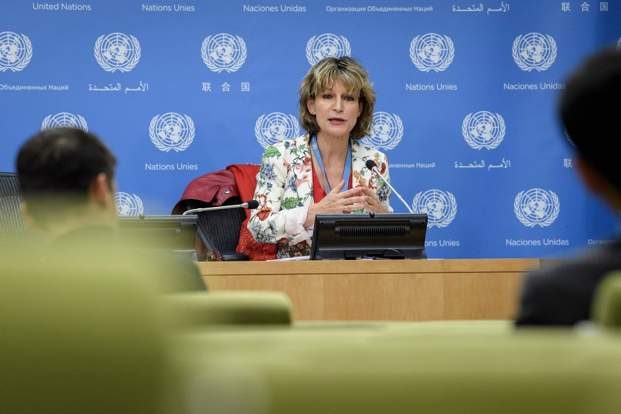 Press briefing by Ms. Callamard, Special Rapporteur on extrajudicial, summary or arbitrary executions