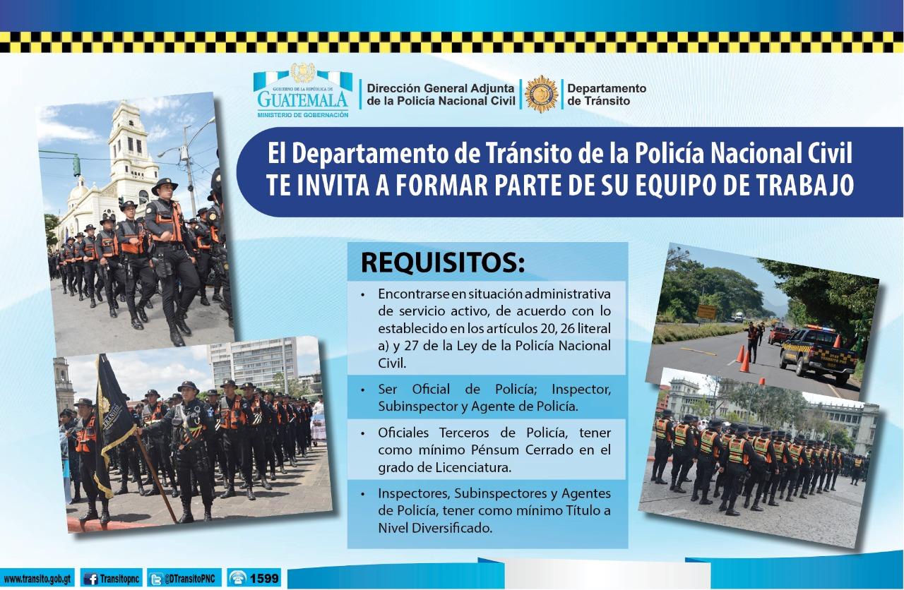 Convocatoria Para El Personal De La Carrera Policial