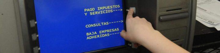 Pago impuestos y servicios cajero automatico red link