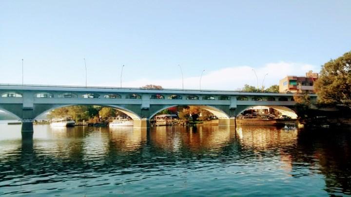 puente uruguay villa carlos paz lago san roque dique vista panorámica