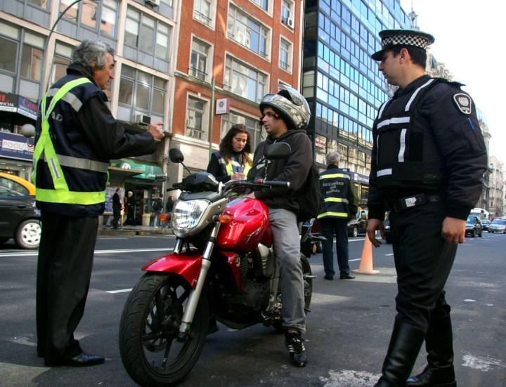 Control de Transito a moto Gobierno de la Ciudad Capital Federal