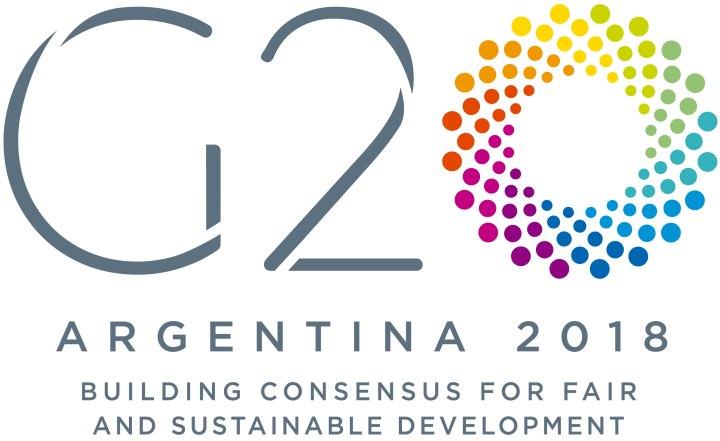 logo cumbre g20 en Argentina 2018