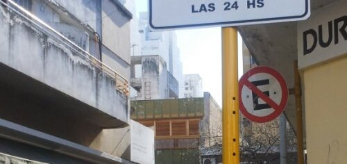 Restricción transporte interurbano calle Buenos Aires
