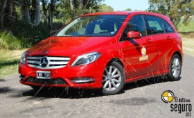 Mercedes Benz Bluee Fluency, el auto con mayor índice de seguridad y bajo precio, ganador del Auto de Oro, según CESVI
